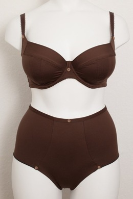 High briefs Dark Chocolate